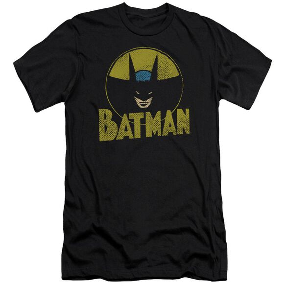 Dc Circle Bat Premuim Canvas Adult Slim Fit