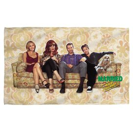 Married With Children Couch Trip Towel White