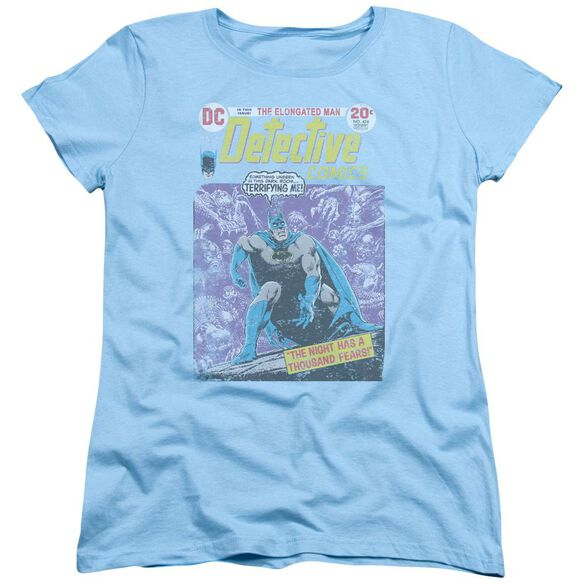 Batman A Thousand Fears Short Sleeve Womens Tee Light T-Shirt