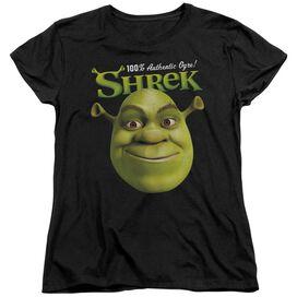 Shrek Authentic Short Sleeve Womens Tee T-Shirt
