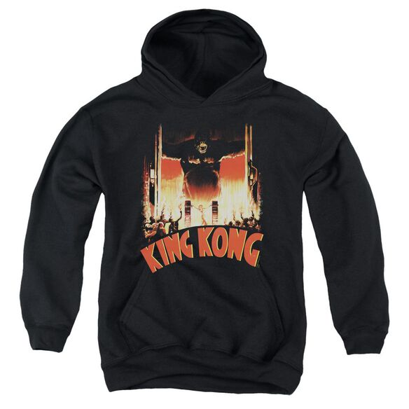 King Kong At The Gates Youth Pull Over Hoodie