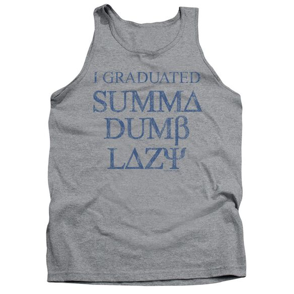 Summa Dumb Lazy Adult Tank Athletic