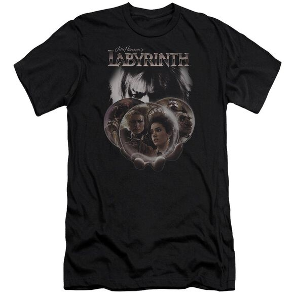 Labyrinth Globes Short Sleeve Adult T-Shirt