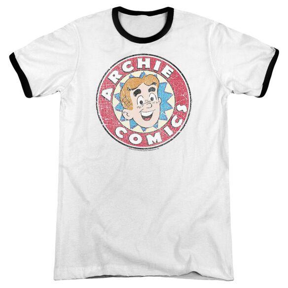 Archie Comics Archie Comics Adult Ringer White Black