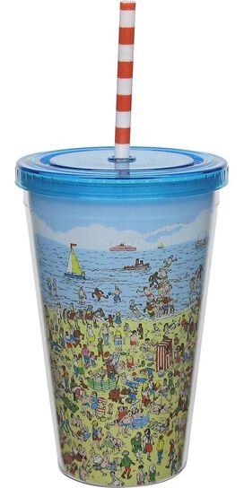 Where's Waldo Beach Travel Cup