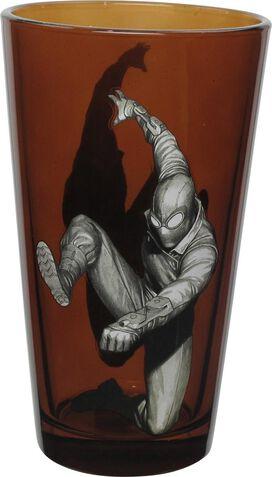 Spiderman Spider-Verse Noir Pint Glass