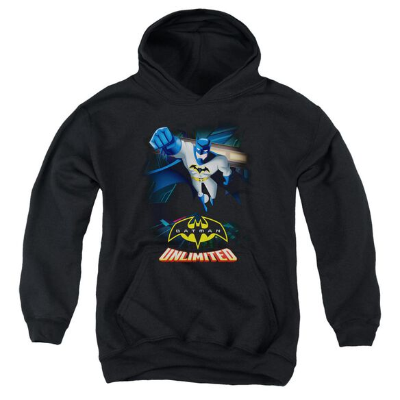 Batman Unlimited Descent Youth Pull Over Hoodie