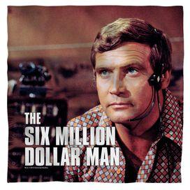 Six Million Dollar Man Steve Austim Bandana White