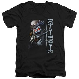 Death Note Shinigami Short Sleeve Adult V Neck T-Shirt