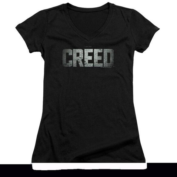 Creed Logo Junior V Neck T-Shirt
