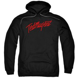 Ted Nugent Distress Logo Adult Pull Over Hoodie