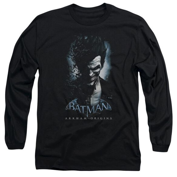 Batman Arkham Origins Joker Long Sleeve Adult T-Shirt