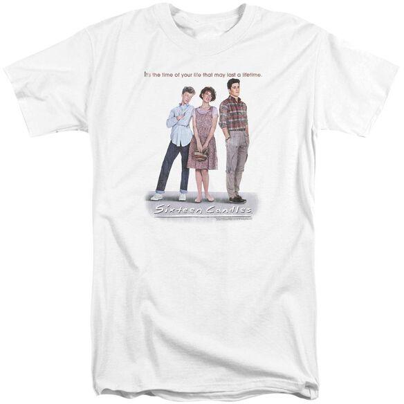 Sixteen Candles Poster Short Sleeve Adult Tall T-Shirt
