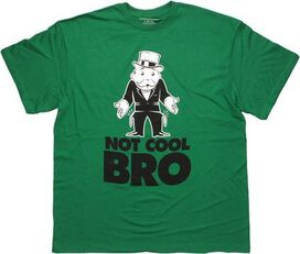 Monopoly Not Cool Bro T-Shirt