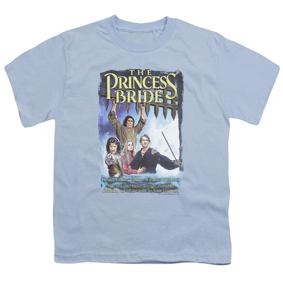 Princess Bride Alt Poster Short Sleeve Youth Light T-Shirt