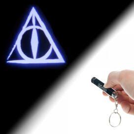 Harry Potter Deathly Hallows Flashlight Keychain