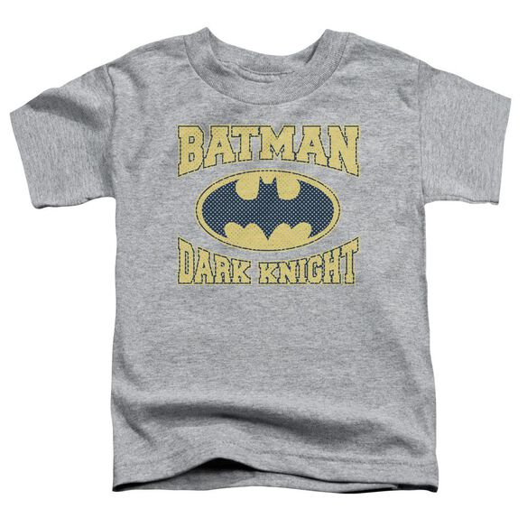 Batman Dark Knight Jersey Short Sleeve Toddler Tee Athletic Heather Sm T-Shirt