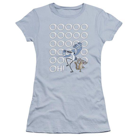 The Regular Show Oooooh Hbo Short Sleeve Junior Sheer Light T-Shirt