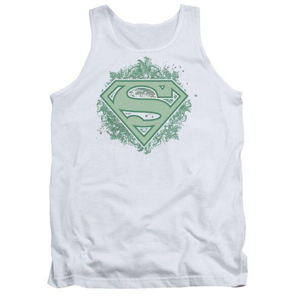 Superman Ornate Shield Adult Tank