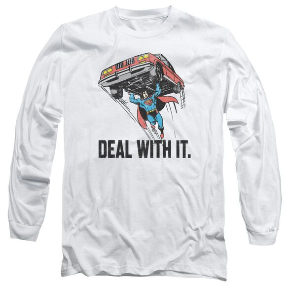 Dco Deal With It Long Sleeve Adult T-Shirt