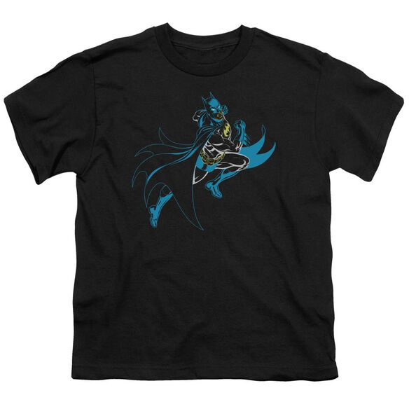 Batman Neon Batman Short Sleeve Youth T-Shirt