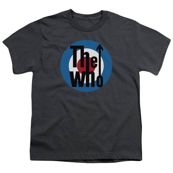 The Who Logo Short Sleeve Youth T-Shirt