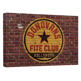 Ray Donovan Fite Club Quickpro Artwrap Back Board