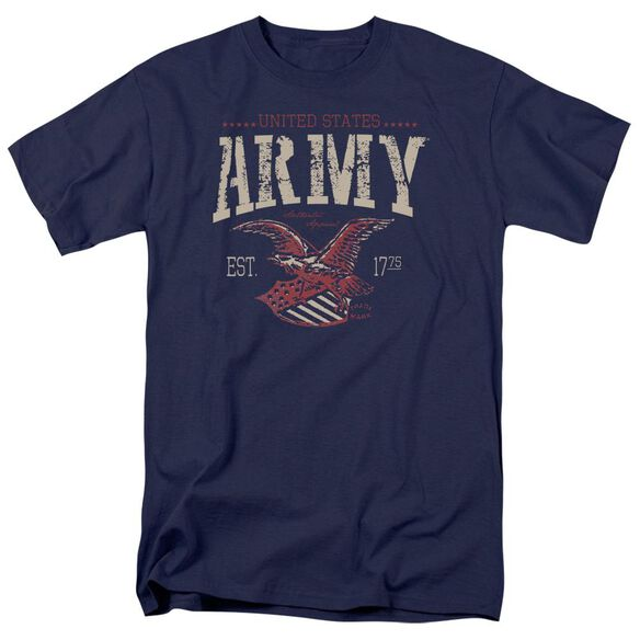 Army Arch Short Sleeve Adult Navy T-Shirt