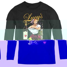 I Love Lucy Bitter Grapes - Womens Long Sleeve Tee