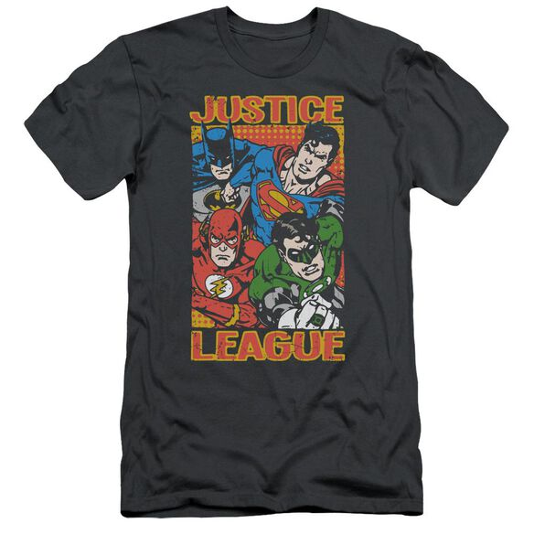 Jla Hero Mashup Short Sleeve Adult T-Shirt