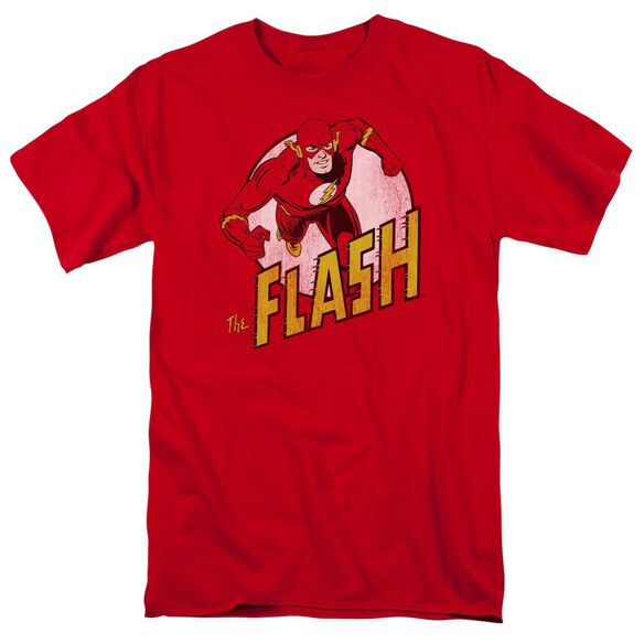 Dc Flash The Flash Short Sleeve Adult T-Shirt