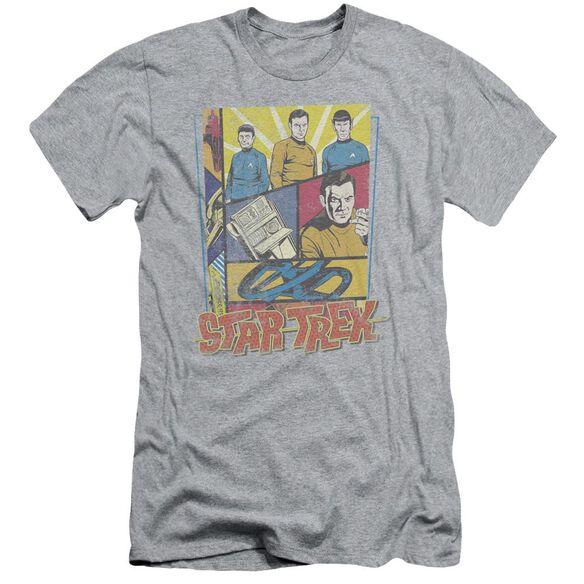 Star Trek Vintage Collage Short Sleeve Adult Athletic T-Shirt