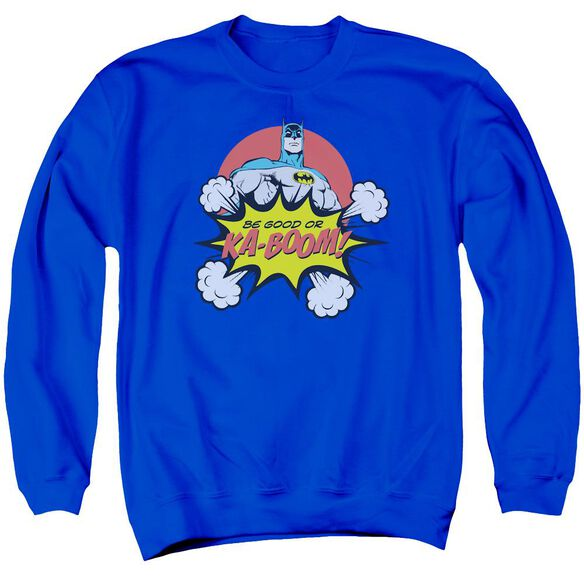 Dc Kaboom Adult Crewneck Sweatshirt Royal