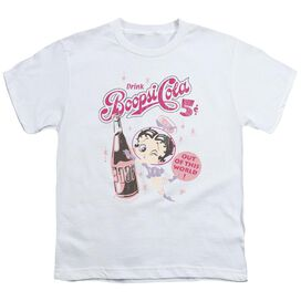 Betty Boop Boopsi Cola Short Sleeve Youth T-Shirt