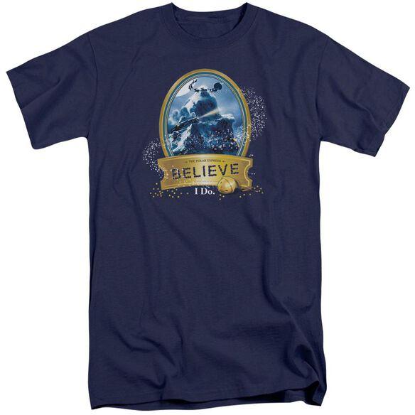 Polar Express True Believer Short Sleeve Adult Tall T-Shirt