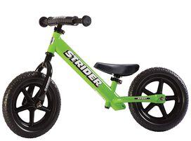 Strider - 12 Sport Balance Bike [Green], Ages 18 Months to 5 Years
