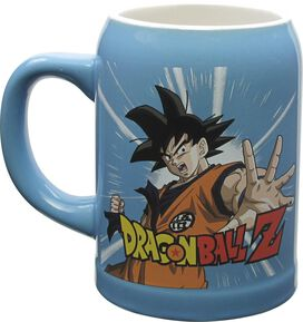 Dragon Ball Z Goku and Super Saiyan Goku Stein Mug