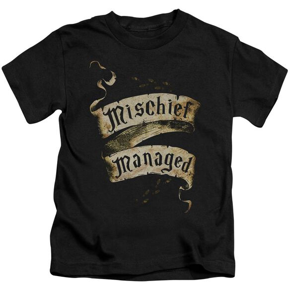 Harry Potter Mischief Managed Short Sleeve Juvenile T-Shirt