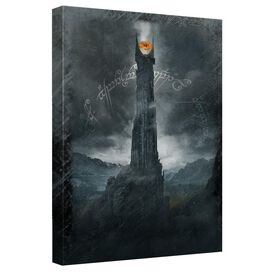 Lord Of The Rings Tower Canvas Wall Art With Back Board