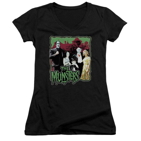 The Munsters Normal Family Junior V Neck T-Shirt