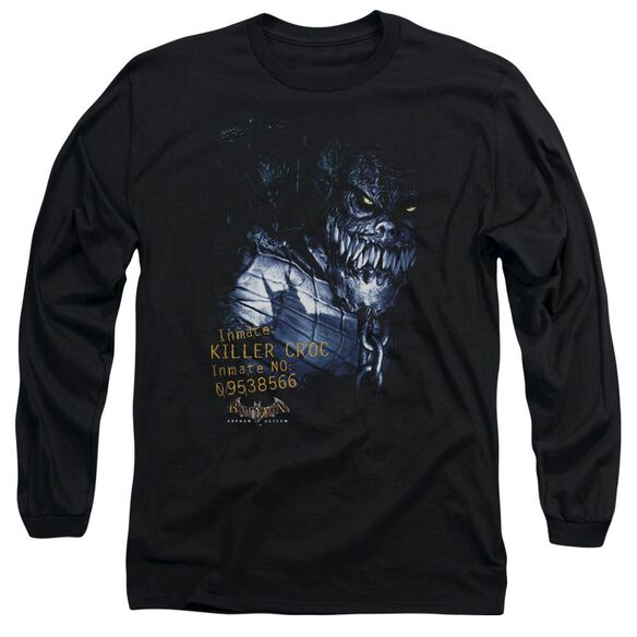 Batman Aa Arkham Killer Croc Long Sleeve Adult T-Shirt