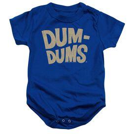 Dum Dums Distressed Logo-infant