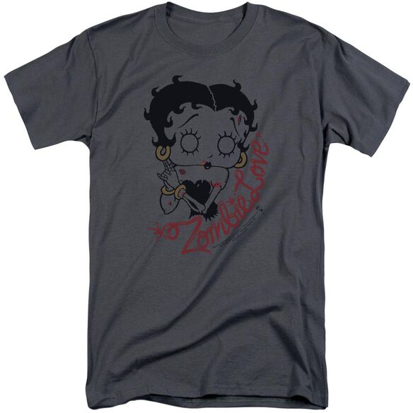 Betty Boop Classic Zombie Short Sleeve Adult Tall T-Shirt