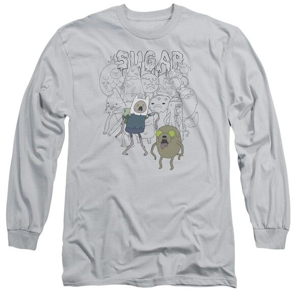 Adventure Time Sugar Zombies Long Sleeve Adult T-Shirt