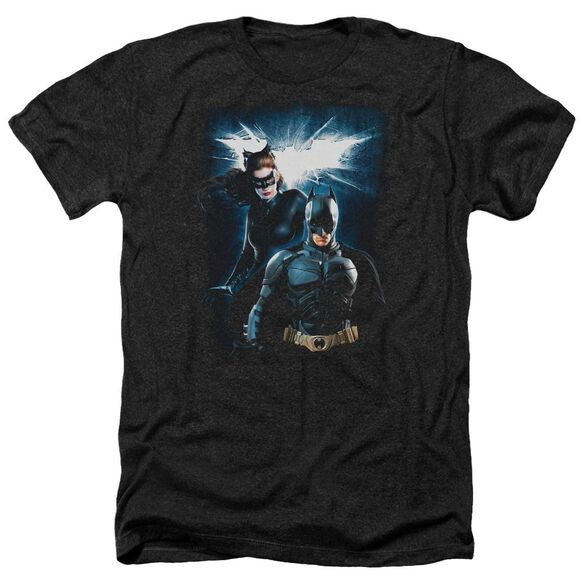 Dark Knight Rises Bat & Cat Adult Heather