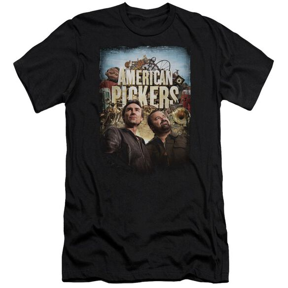 American Pickers Picker Poster Hbo Short Sleeve Adult T-Shirt
