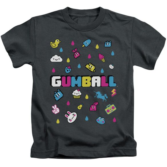 Amazing World Of Gumball Fun Drops Short Sleeve Juvenile T-Shirt