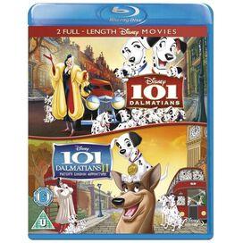 101 Dalmatians 1 & 2 [Blu-ray]