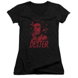 Dexter Born In Blood Junior V Neck T-Shirt