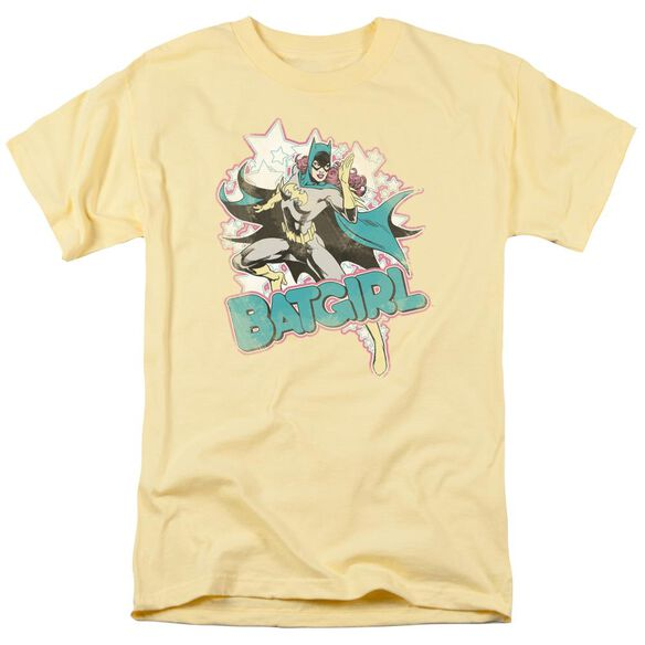 Dc I'm Batgirl Short Sleeve Adult Banana T-Shirt